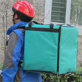 PK-76G: Insulated bag for food delivery, stain resistent pizza bags for take out, 16