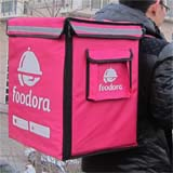 PK-65D: Takeaway dinner food bags, pizza delivery backpack for Foodora riders, 16