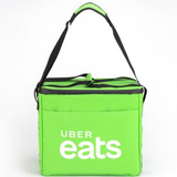PK-32G: Insulated delivery shoulder bag, eat takeaway handbag, waterproof bags, 16