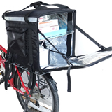 PK-92Z: Food delivery box for motorcycle, thermal delivery bags with high capacity, 17