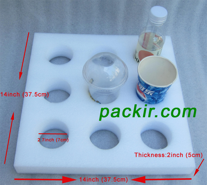 PK-HOLDER-S1: Beverage Holder, Drinks Carrier, Avoid Liquid Food Spilling, 14